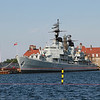 Danish navy ship